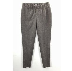 Apt. 9 Modern Fit Gray Stretch Ankle Pants Small